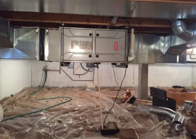 Bryant Furnace - Crawlspace Hanging