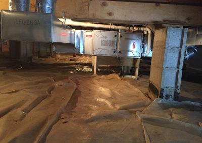 Bryant Furnace - Crawlspace on Platform