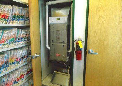Bryant Furnace - Small Closet
